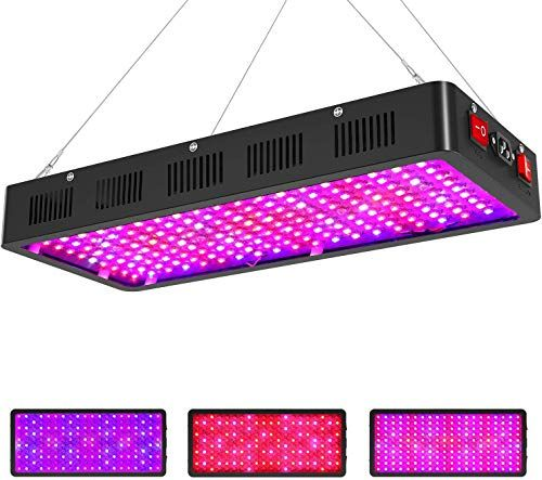 New Sunnewgrow 2000w Led Grow Light Indoor Plants Triple Chips Dual Switch Full Spectrum Led Plant Growing Light Fixtures Professional Greenhouse Grower In 2020 Led Grow Lights Grow Lights For