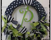 Boy Ribbon Wreath