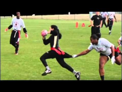 Youth Flag Football Defense Drill One On One Flag Pulling