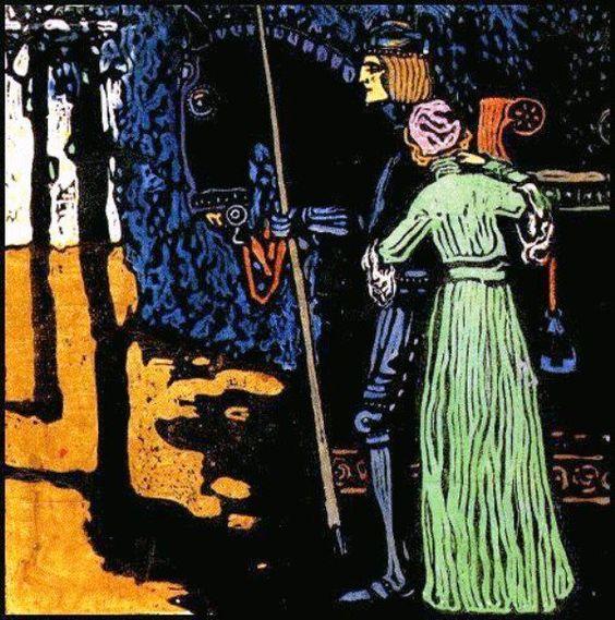 Vasilij Kandinskij - L'Adieu, 1903
