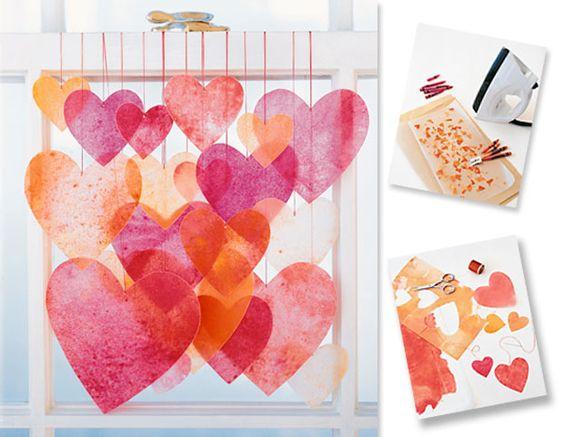 Walentynkowe ozdoby – zrób to sam: Cuda Wianki, Hearts Valentines, Sam Example, Ozdoby Zrób, Walentynkowe Ozdoby, Slub Blog