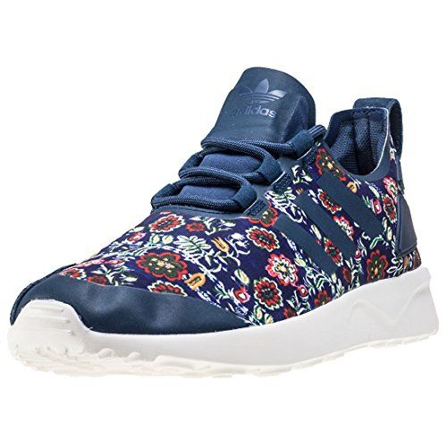 adidas Zx Flux Adv Verve W Womens Trainers Blue Multicolour 35 UK * Amazon  most trusted