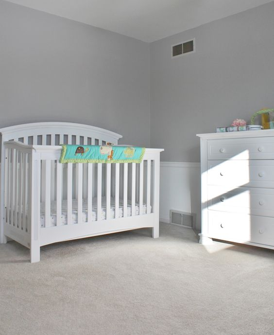 Baby 39 s room paint sherwin williams light french grey - Light grey paint color for bedroom ...