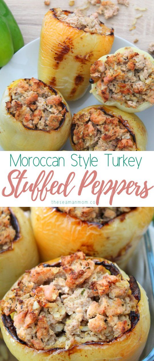 Ever Heard Of Microwave Stuffed Peppers These Turkey Stuffed Bell Peppers Are Super Quick To Make In A With Images Stuffed Peppers Fun Easy Recipes Stuffed Sweet Peppers