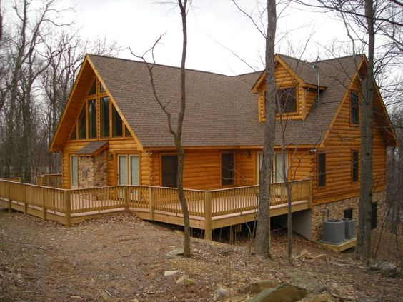 jocassee cabin series designed by blue ridge log cabins