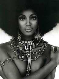 Afros: African American, Black Is Beautiful, Black Beauty, Beautiful Black, Hairstyle, Hair Style, Natural Hair, Naomi Campbell, Black Women
