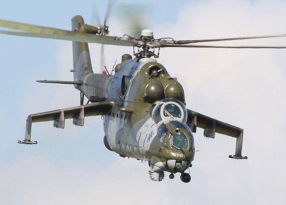 Mi-24 'Hind' helicopter gunship