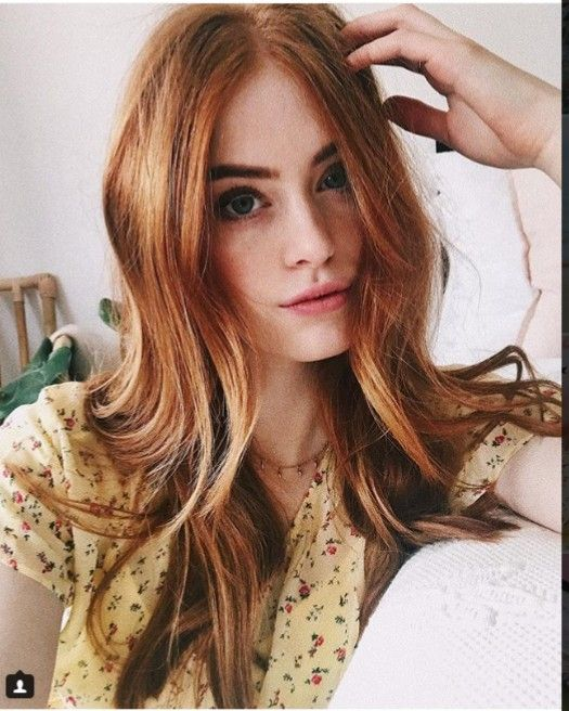Hairstyle Image By Gulwish Official Account Red Hair Woman