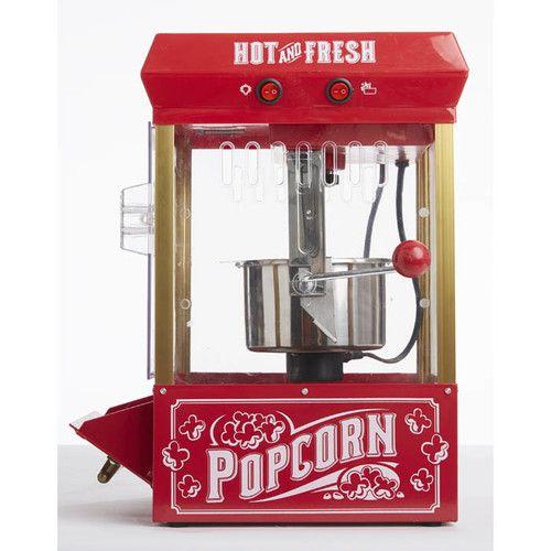 Nostalgia Electrics 2.5 Oz. Vintage Kettle Popcorn Maker