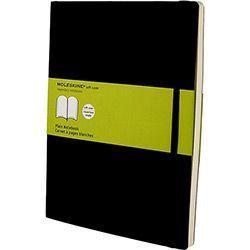 Moleskine Soft Notebook Extra Grande Preto Sem Pauta Capa Flexível