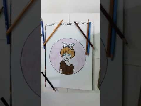 رسم سهل وبسيط للمبتدئين انمي Youtube Girly Drawings Drawings Girly