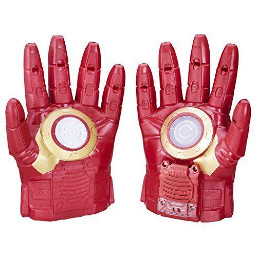 Quatang Gallery- Avengers Marvel Iron Man Gants Arc Fx Sons Et Lumieres Actives Par Mouvement Plusieurs Effets Sonores D Explosions Sons Repulseur Ce Gant Iron Men Iron Man