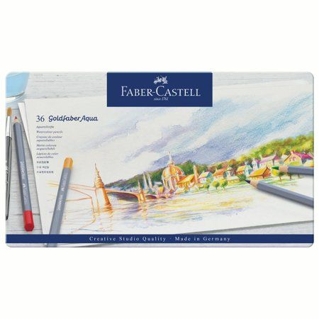 Arts Crafts Sewing In 2020 Faber Castell Watercolor Pencils Aqua