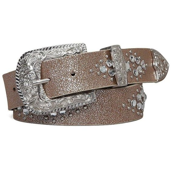Women's Rhinestone Belt in Silver/Cream by Daytrip. ($23) ❤ liked on Polyvore featuring accessories, belts, cream belt, daytrip and silver belt