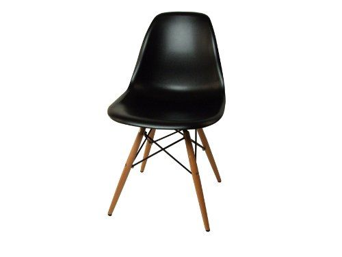 Control Brand Mid Century Inspired Dining Chair Black Stylish Chairs Dining Chairs Eiffel Dining Chair