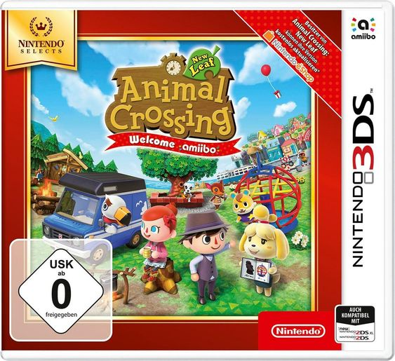 Animal Crossing New Leaf Welcome Amiibo Selects Nintendo Ds