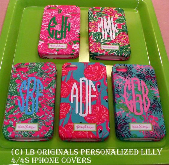 Personalized Lilly iPhone case