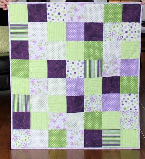 Grape and Lime Quilt