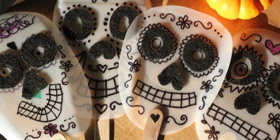 Dia de los Muertos Masks!   Alpha Mom