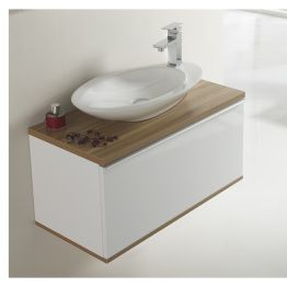 Set completo pure thebathpoint mueble de ba o 60x40x40cm for Set de bano completo