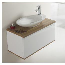 Set completo pure thebathpoint mueble de ba o 60x40x40cm for Set de bano completo