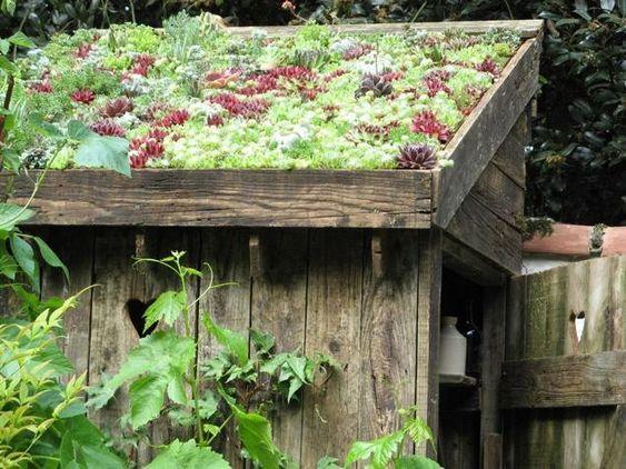 jardins id es sympas and toit de cabane on pinterest. Black Bedroom Furniture Sets. Home Design Ideas