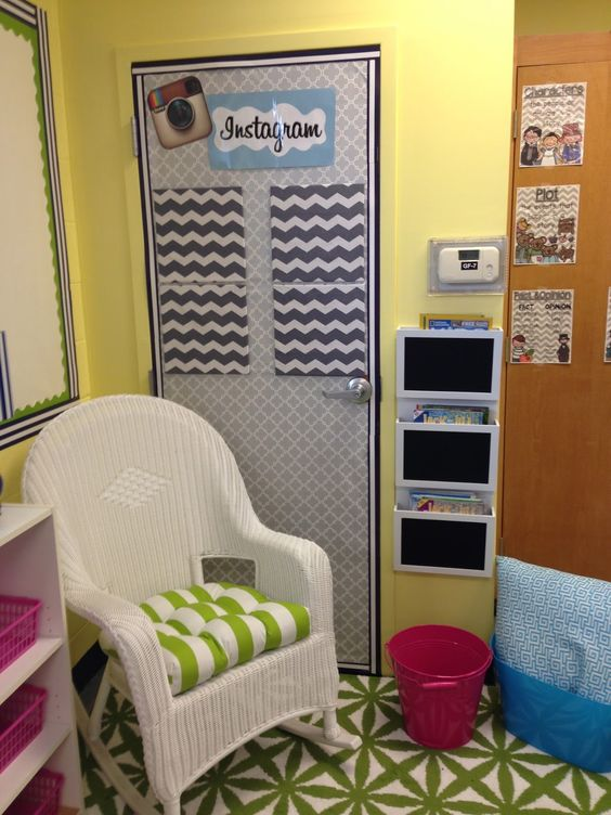 Classroom Decor Instagram ~ Life in fifth grade classroom makeover week four cute