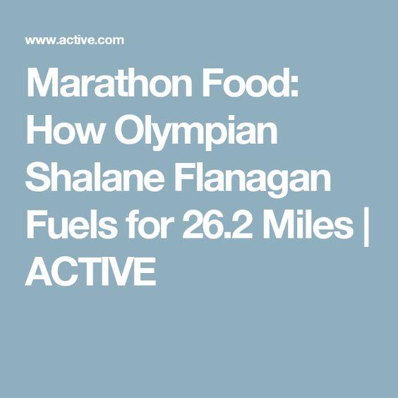 Marathon Food: How Olympian Shalane Flanagan Fuels for 26.2 Miles | ACTIVE