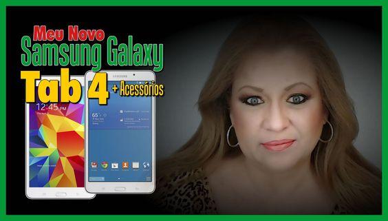 RESENHA: Samsung Galaxy Tab 4 + Acessórios