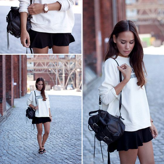Boxy Sweatshirt and Flirty Shorts Marc By Marc Jacobs Watch