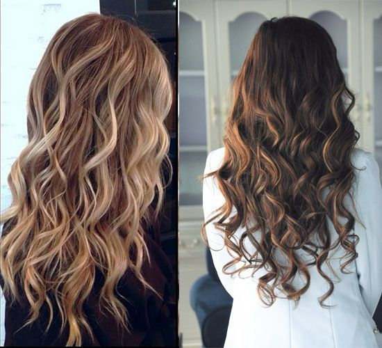 Trendy Hair Style Balayage Highlights And Balayage Ombre For Spring 2014 Youfashion Net Leading Fashion Lifestyle Magazine Hair Without Heat How To Curl Your Hair Hair Color Balayage