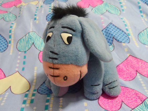 Eeyore with triangle eyes hihihi.. from Singapore!