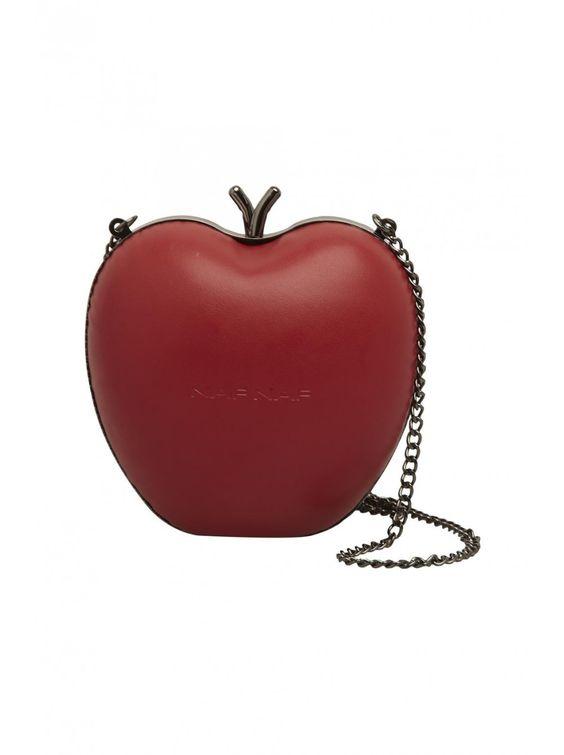 Naf naf nouvelle co h15 sac pomme rouge 1