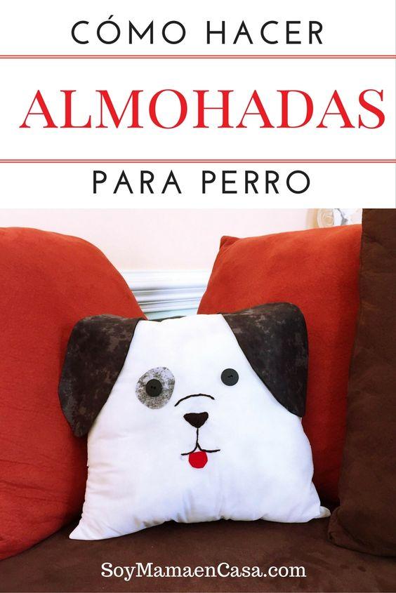 Cómo hacer almohadas para perro, lindo tutorial DIY Incluye moldes ! #manualidades #ThrowItBarkDogChow [AD]