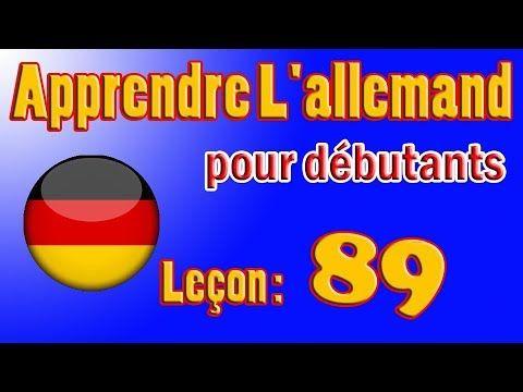 Apprendre L Allemand Pour Debutants Lecon 89 Youtube School Logos Tech Logos Georgia Tech