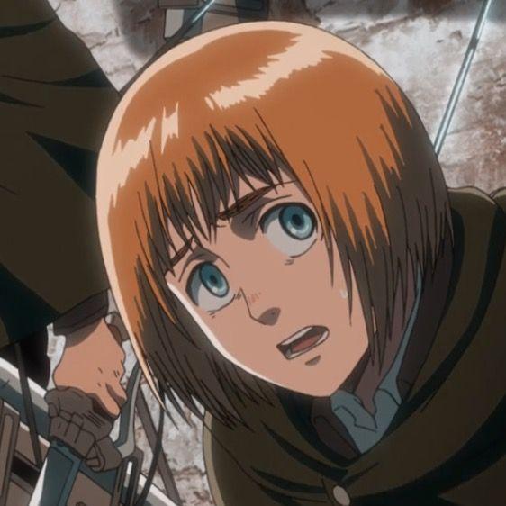 Pin By Taty Ackerman On Armin In 2021 Armin Anime Attack On Titan