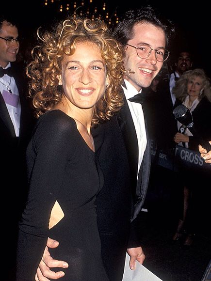 Old school Sarah Jessica Parker and Matthew Broderick.