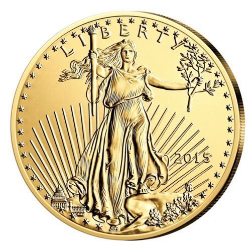Goldmuenze-American-Eagle-1-10oz-2015-USA-Gold
