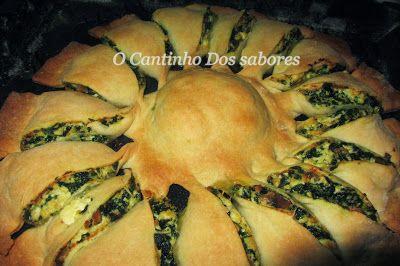 Aqui vos deixo uma bela entrada ou acompanhamento para uma carne assada ou um peixe no forno . é realmente uma escolha vossa. faça já esta bela tarte e deixe a família e amigos deliciados   Read more: http://ocantinhodosabores.blogspot.com/2014/01/tarde-de-requeijao-e-espinafres.html#ixzz2qIySl3xy