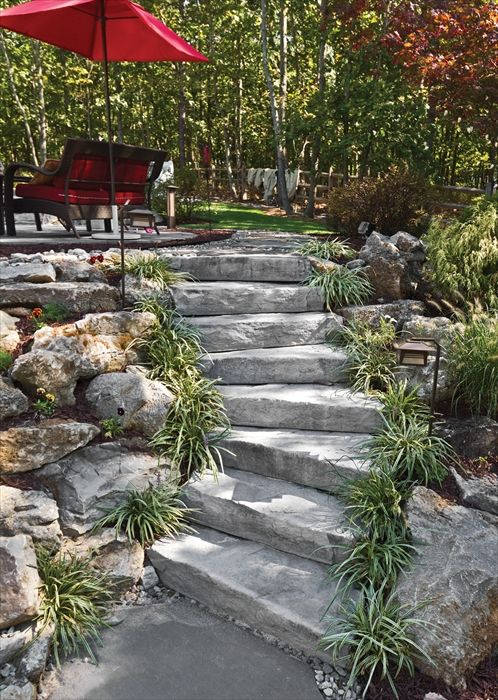 304 best walkways steps images on pinterest catwalks driveways quarry steps by ep henryconcrete step stones workwithnaturefo