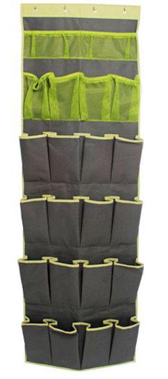 Personaliza y llena tu clóset de verde con este práctico organizador de zapatos