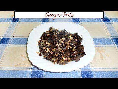 Sangre Frita Con Cebolla Piñones Y Orégano Receta De Cocina En Familia Youtube Recetas De Cocina Comida Piñones
