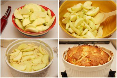 two little chefs: Irish Apple Cake....sounds like a great dessert for an Irish celebration
