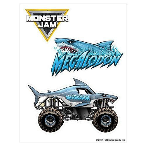25+ Monster Truck Megalodon Coloring Page