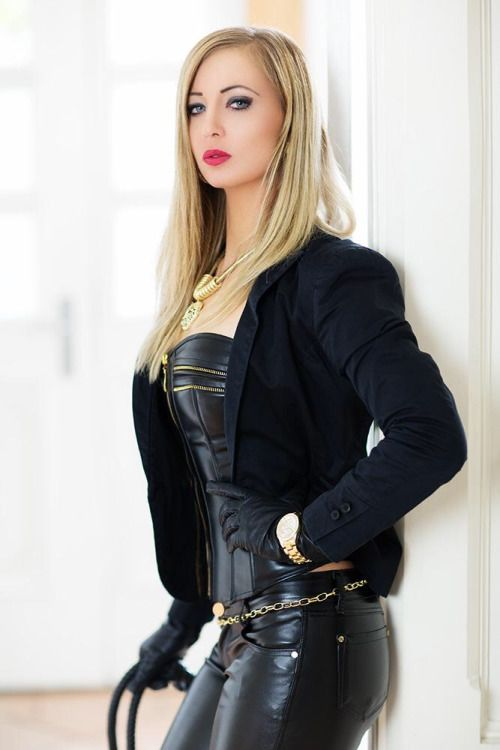 A collection of images of Mistresses, Dommes and just generally Dominant Women.