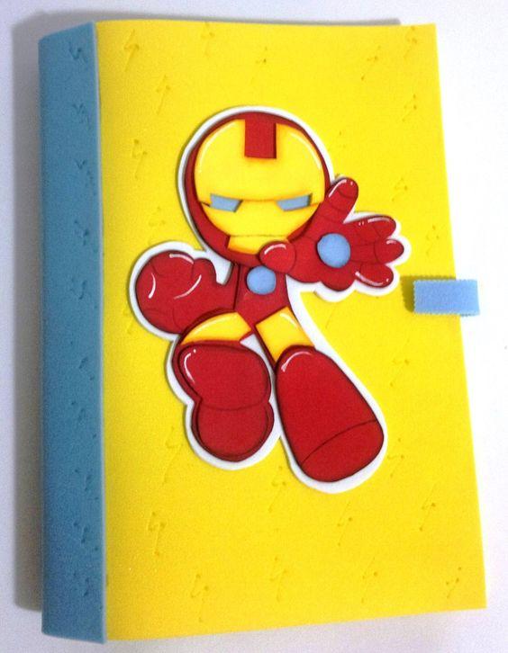 Forros para decorar cuadernos y carpetas en foami bsf - Como decorar un dibujo ...