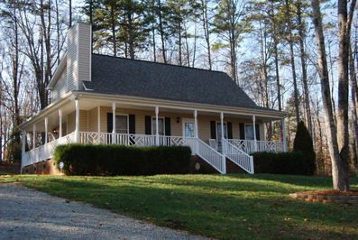 Cape cod photos and porches on pinterest for Cape cod floor plans with wrap around porch