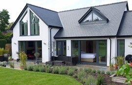 Potton self build house designs free house designs plans for Contemporary self build homes