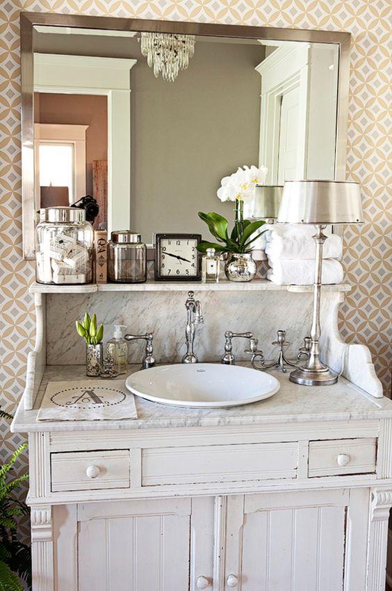 bathroom vanity -love it