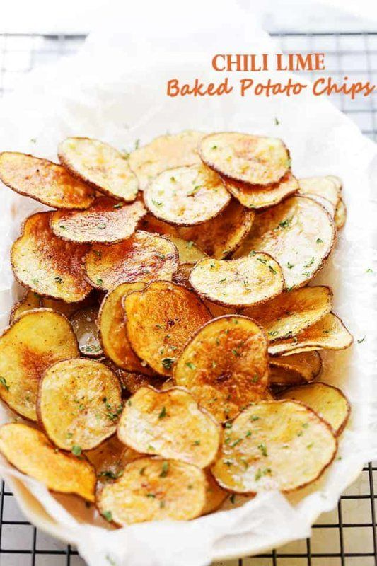 12 Of The Crispiest Homemade Potato Chip Recipe Ideas Potato Chip Recipes Homemade Potato Chips Recipe Baked Potato Chips